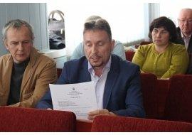 ДУБРОВИЦЬКІ ДЕПУТАТИ ПІДТРИМАЛИ ОЛЕКСАНДРА ГОРБАЧОВА!