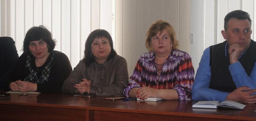 Катерина Пшенична третя зліва